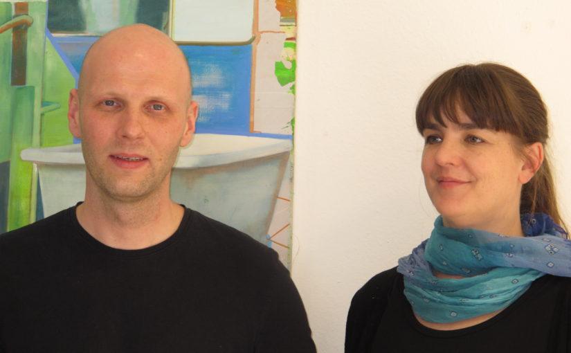 Gerit Koglin und Lina Faller